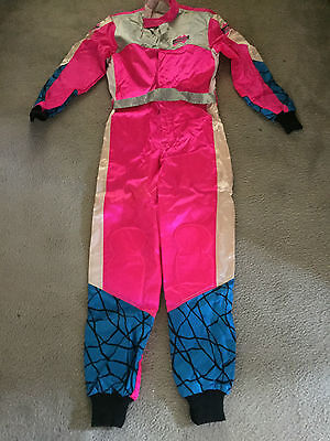 Emerson Go Kart Suit Pink Cik/fia Approved Size Large