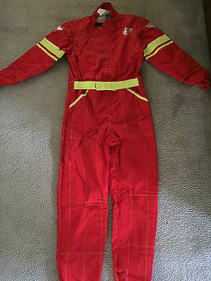 Emerson Go Kart Suit Red Cik/fia Approved