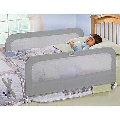 Home Safe By Summer Infant Night Double Bed Rail in Grey
