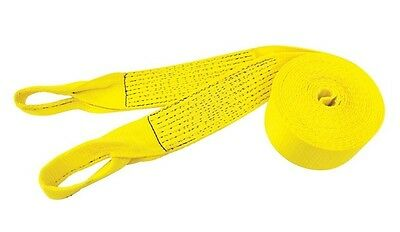 """Pro Grip Recovery Strap With Loops HD 30ft. L 4"""" W 36000Lb. Nylon Yellow"""