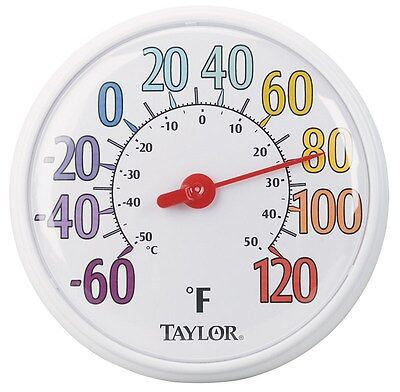 """Taylor Color Trak Thermometer Indoor/Outdoor 13-1/2"""""""