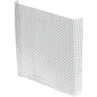 """Prime-Line Screen Patch 3"""" X 3"""" Aluminum Gray Carded"""