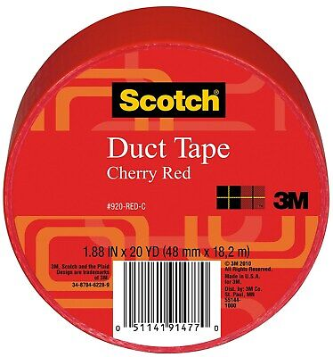 3M 920-RED-C 20 Yards Red Duct Tape
