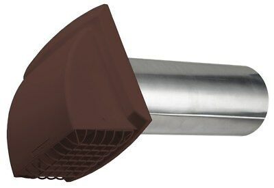 "Dundas Jafine PMH4BXZ 4"" Brown ProMax Wide Mouth Exhaust Hood"