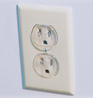 Safety 1st Outlet Plug Clear Carded 12 / Pack