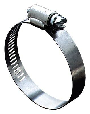 """Ideal 5748053 2-1/2"""" To 3-1/2"""" Hy-Gear Worm Drive Clamps  - PK 10"""