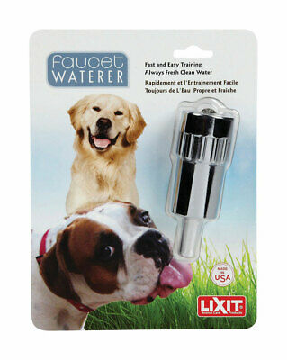 Brand Name: Lixit  Material: Metal  Product Type: Faucet Waterer  Packaging Type