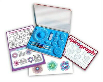 Kahootz 01002 Spirograph Design Tin Set