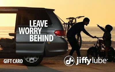 Buy a $50 Jiffy Lube® eGift Card for only $40 - Email delivery