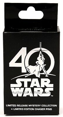 Star Wars Celebration 2017 40th Anniversary Disney LR Mystery Pin Box w/ 2 pins