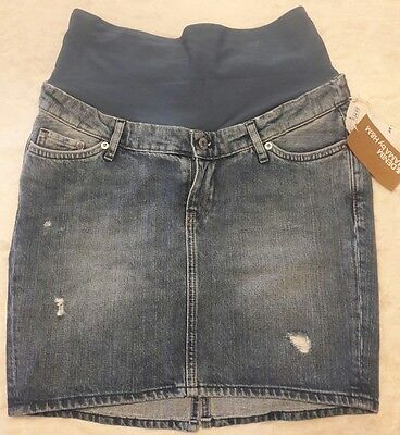 NWT Maternity Mama by H&M Mini Jean Skirt Size 6 (small)