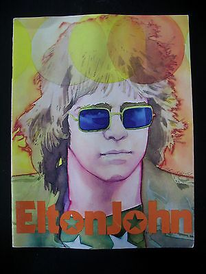 Elton John Rock 'n Pop Stars Creative Education Booklet 1974 Keely Art
