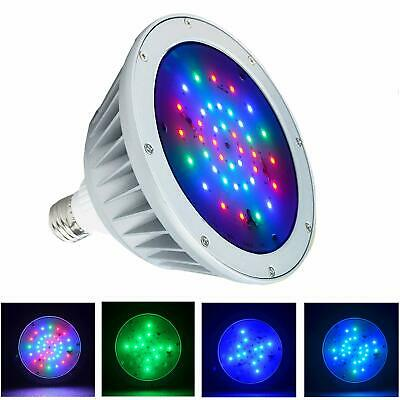 12V 20W Color Changing Swimming Pool LED Light Bulb Replace for Pentair Hayward