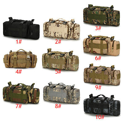 Hot Selling Outdoor Waterproof Oxford Fabric Camping Hiking Tactical Waist Bag