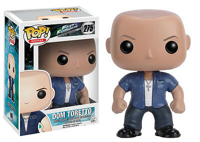 Funko Pop Movies Fast & Furious: Dom Toretto Vinyl Action Figure Collectible Toy