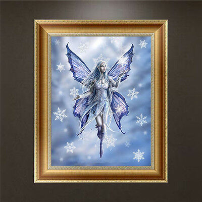 DIY 5D Diamond Embroidery Butterfly Fairy Painting Cross Stitch Craft Home Decor