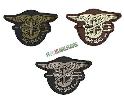 Patch Toppa Navy Seals Logo in Pvc