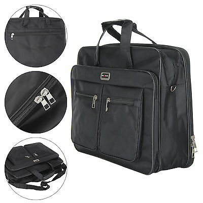 Lightweight Computer Bag Fit to 17 Inch Business Laptop with back strap Black UK