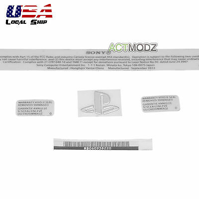 White Repair Warranty Seal Body Tag Sticker for Playstation PS4 Console CUH-1000