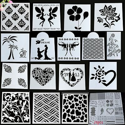 Tool Kitchen Layering Stencil Template Fondant Cutting Dies Scrapbooking