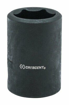 Crescent  18 mm  x 1/2 in.  Metric  6  Impact Socket  1 pc.