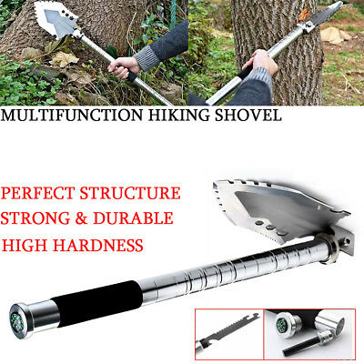 NEW Foldable Multi-Tools Survival Folding Shovel Outdoor Garden Camping Hiking