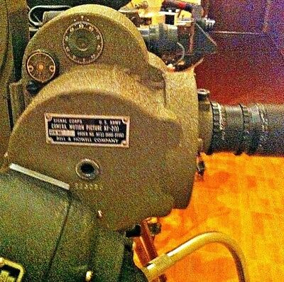 Bell & Howell 35mm  Eyemo KF-2 Cine Camera. Military Surplus Clean!