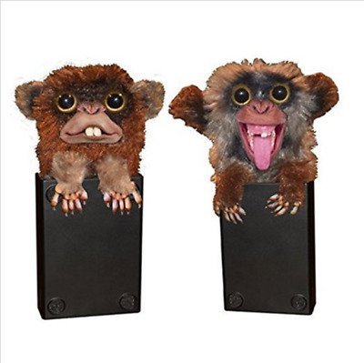 Spoof Monkey Jitters Furry Pop Up Surprise Christmas Prank Toy Present Gift 2017