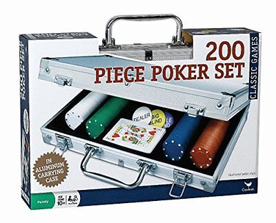 200 pc Poker Set In Aluminum Case (Styles Will Vary) New