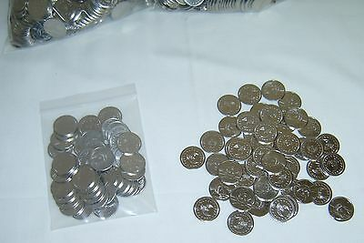 50  =New=  Stainless Steel Skill Slot Machine Super Tokens / Coins