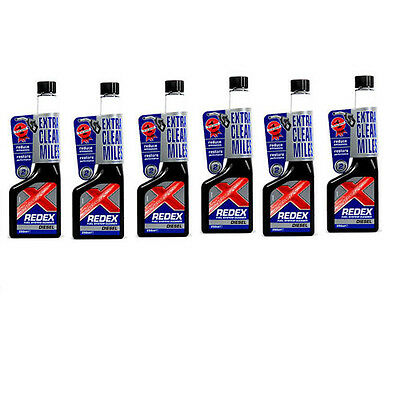 6 X Redex Diesel Fuel System Cleaner 500ml HOL-RADD2201A-6