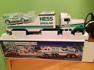 Hess 1988 Truck and Racer and 1996 Emergency Truck