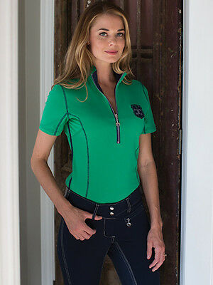 Goode Rider Ideal Show Shirt-Kelly Green-S