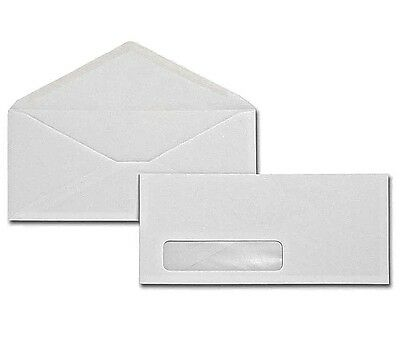 500  #10 Window Envelopes Custom Printed In 1 Color FAST FREE SHIPPING