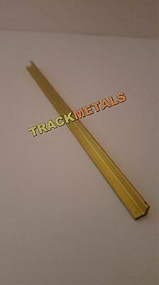 Brass Angle 1/4 x 1/4 1/16 x  1 metre Long