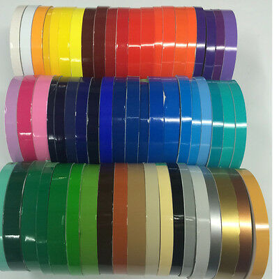 "1/2"" x 150 ft Roll Oracal Vinyl Pinstriping Pinstripe Tape - 63 Colors available"