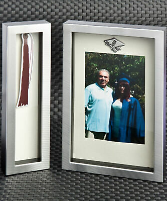 Fashioncraft Graduation Tassel Shadow Box Frame Set  Picture Frame