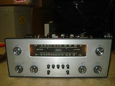 Ampex receiver (preamp & tuner) model 0118 (550), plug and play, good condition