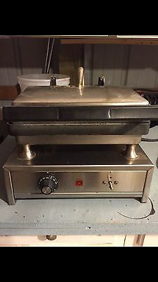 Commercial Kitchen Electric Panini Sandwich Grill Press Food Truck, Deli Shop