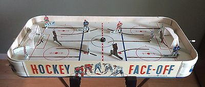 """EagleToys """"FACE-OFF"""" Table Hockey RARE Vintage NHL Collectable or Player's GAME"""