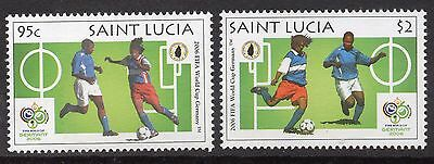 St. Lucia 2006 World Cup Football m/sheet UM (MNH)