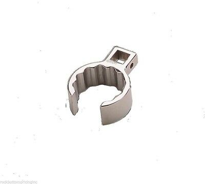 """Wright Tool 1081 1-3/16"""" - 1/2"""" Drive Crowfoot Wrench, Flare Nut 12 Point USA"""