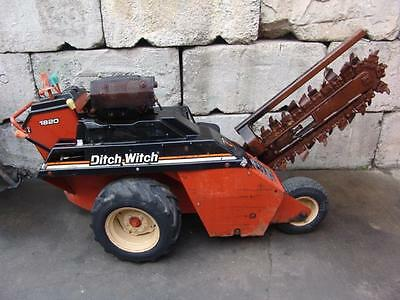 Ditch Witch 1820 Walk Behind Trencher 18Hp Honda Motor Works Great