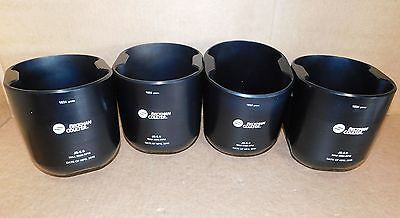 (4)  2016 Beckman Coulter JS-5.0 Rotor Buckets 367837 New