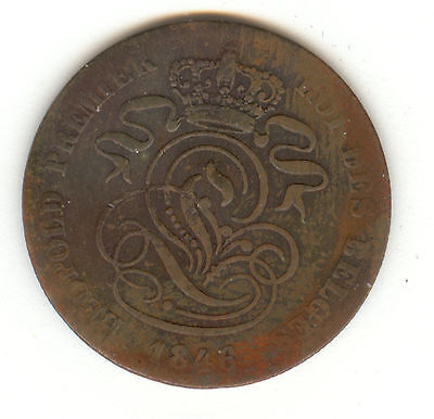 Belgium 1846 Two Centimes!!!