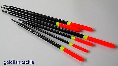 Canal waggler, pencil floats x 6 - roach, tench, bream, carp canal fishing