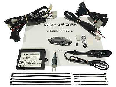 Mitsubishi Triton Cruise Control Kit for 2.5L Turbo Diesel 2010 onwards