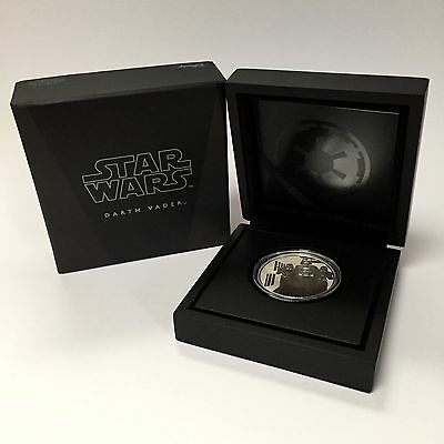 Star Wars Darth Vader 1 oz Silver Coin