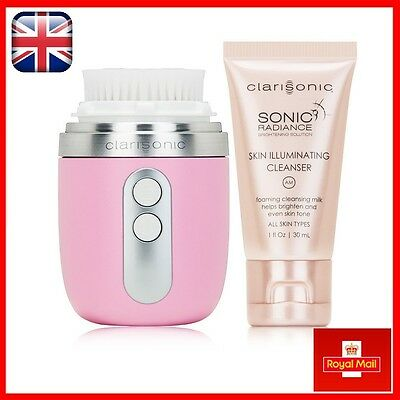 Clarisonic MIA FIT WOMEN'S Skin Care Sonic Cleansing System Pink Boxed UK