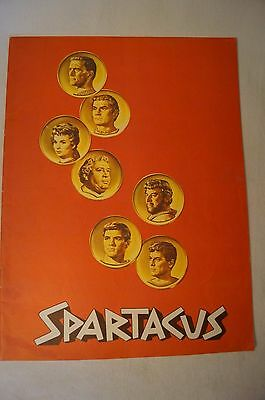 Collectable - Rare - Vintage Movie Programme - Spartacus